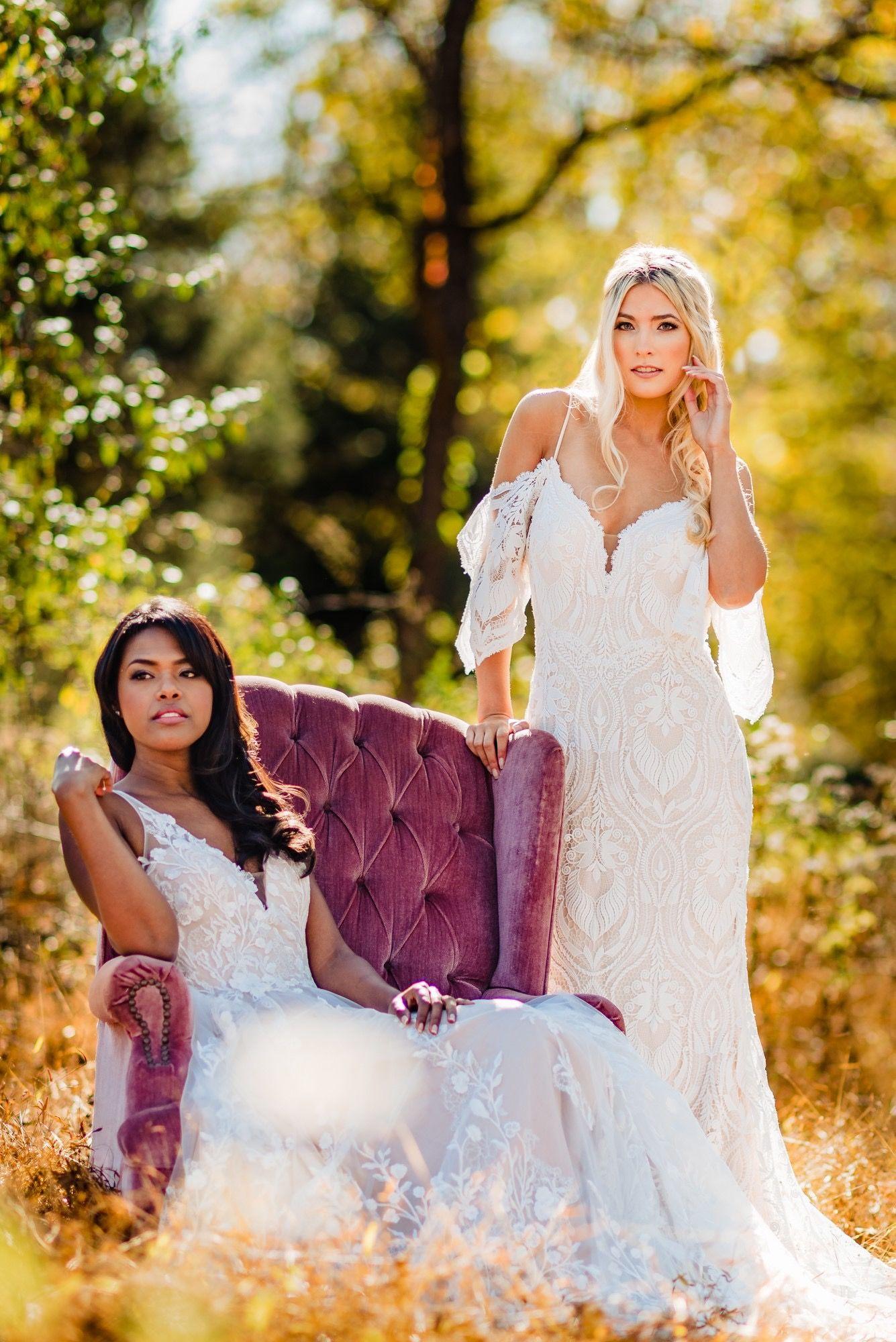 Madi Lane Bridal Pair #fallscenery