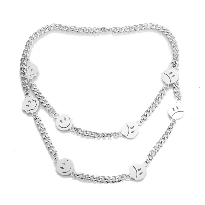 Men S 8 0mm Multi Finish Reversible Curb Chain Necklace In Stainless Steel 24 Zales In 2021 Chain Necklace Silver Chain For Men Mens Chain Necklace