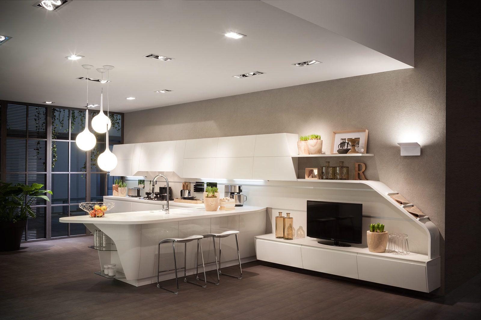 Best Arredare Cucina Soggiorno Open Space Photos - Design Trends ...