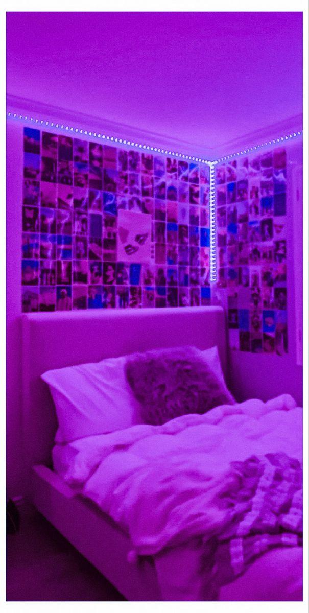 Tiktok Bedroom Led In 2021 Room Ideas Bedroom Room Inspiration Bedroom Room Design Bedroom