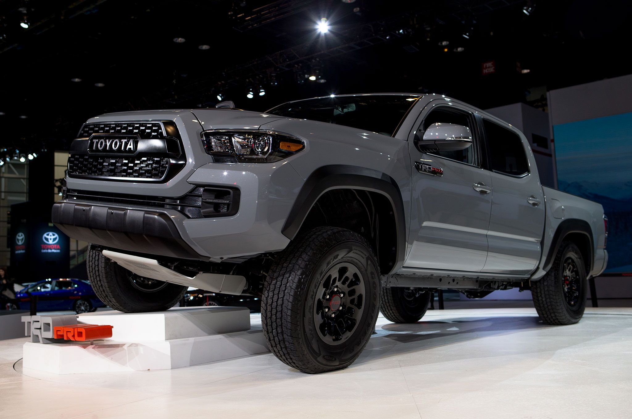 2017 Toyota Tacoma TRD Pro in Cement | Toyota of Riverside ...