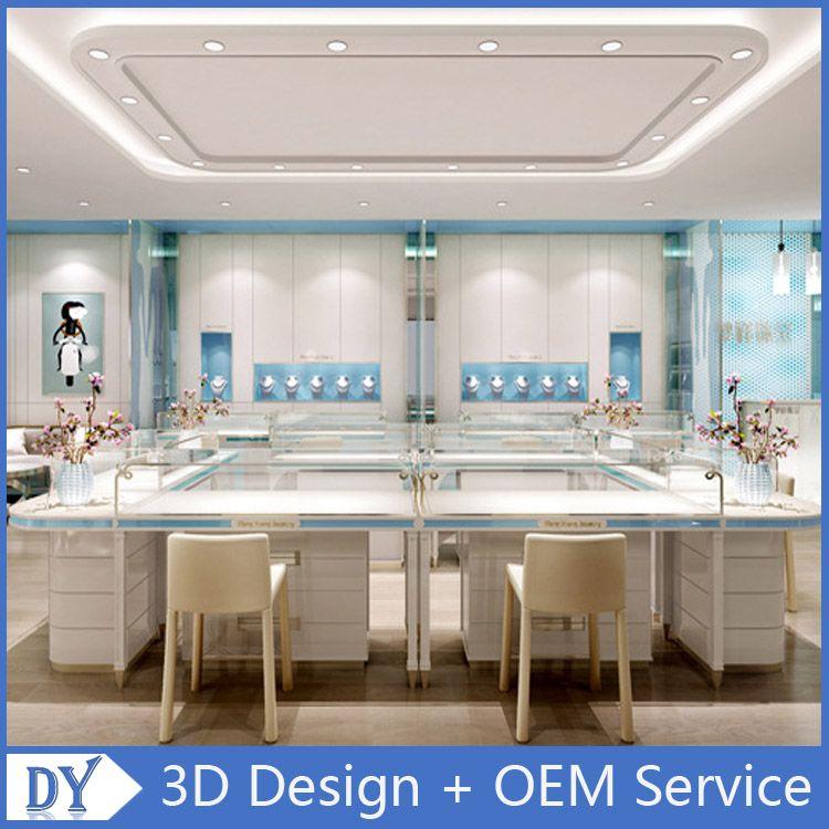 Small Jewellery Shop Interior Design Oem Service Shop Interior