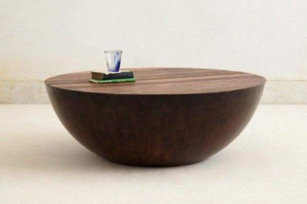 Designer Furniture Round Coffee Table Solid Wood