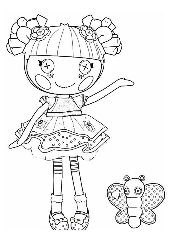 Dorable Colorear Lalaloopsy Ilustración - Ideas Para Colorear ...