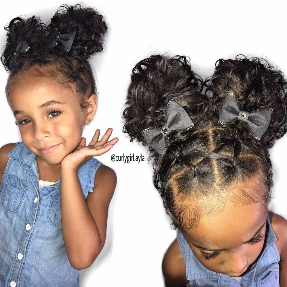 Pin By Jessica Hartley On Braids Girl Hair Dos Kids Curly Hairstyles Curly Girl Hairstyles