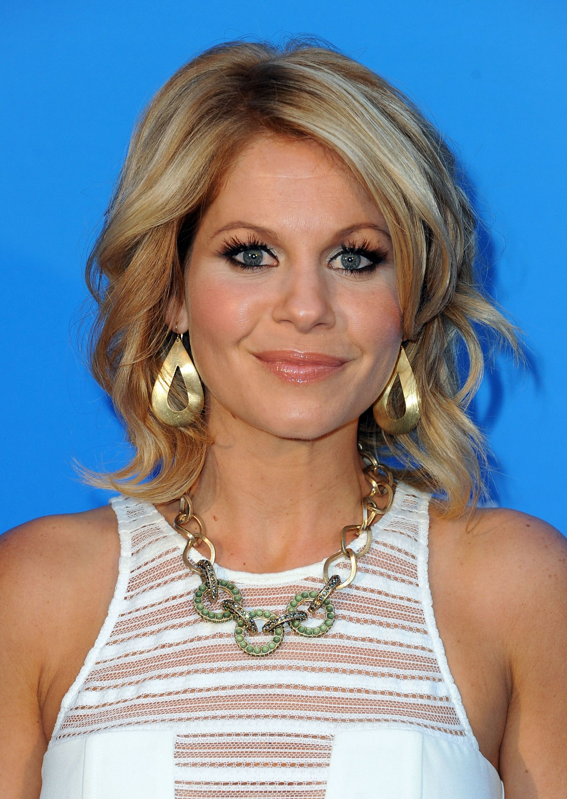 Candace Cameron Bure Short Hair : candace, cameron, short, Candace, Cameron, Photo:, Warner, Cable, Media's, 'Cabletime', Upfront, Event, Hollywood, Roosevelt, Hotel, Hair,, Styles,, Medium, Length, Styles