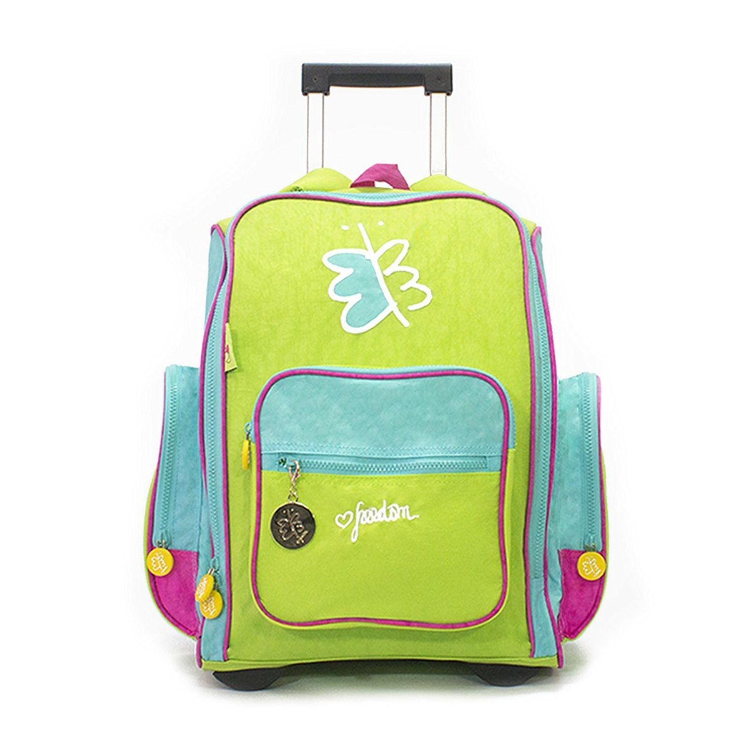 Biglove Rolling Kids Backpack Freedom Hurry Check out this