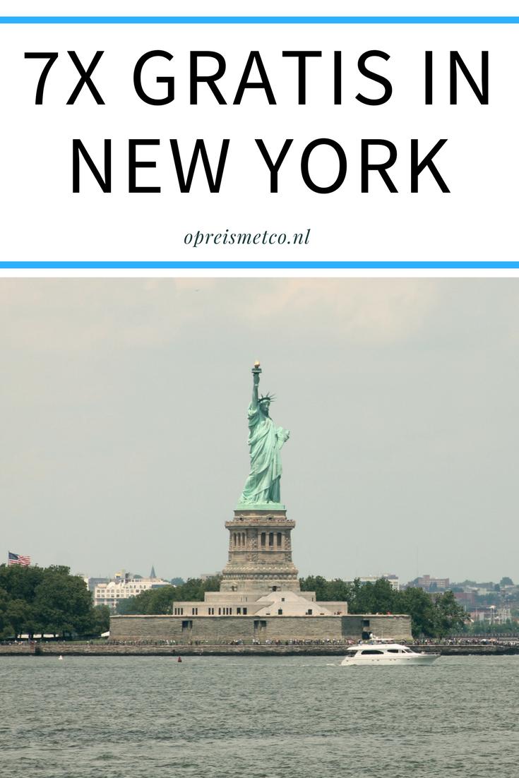 7x Gratis In New York Op Reis Met Co New York Trip Reizen Op Reis