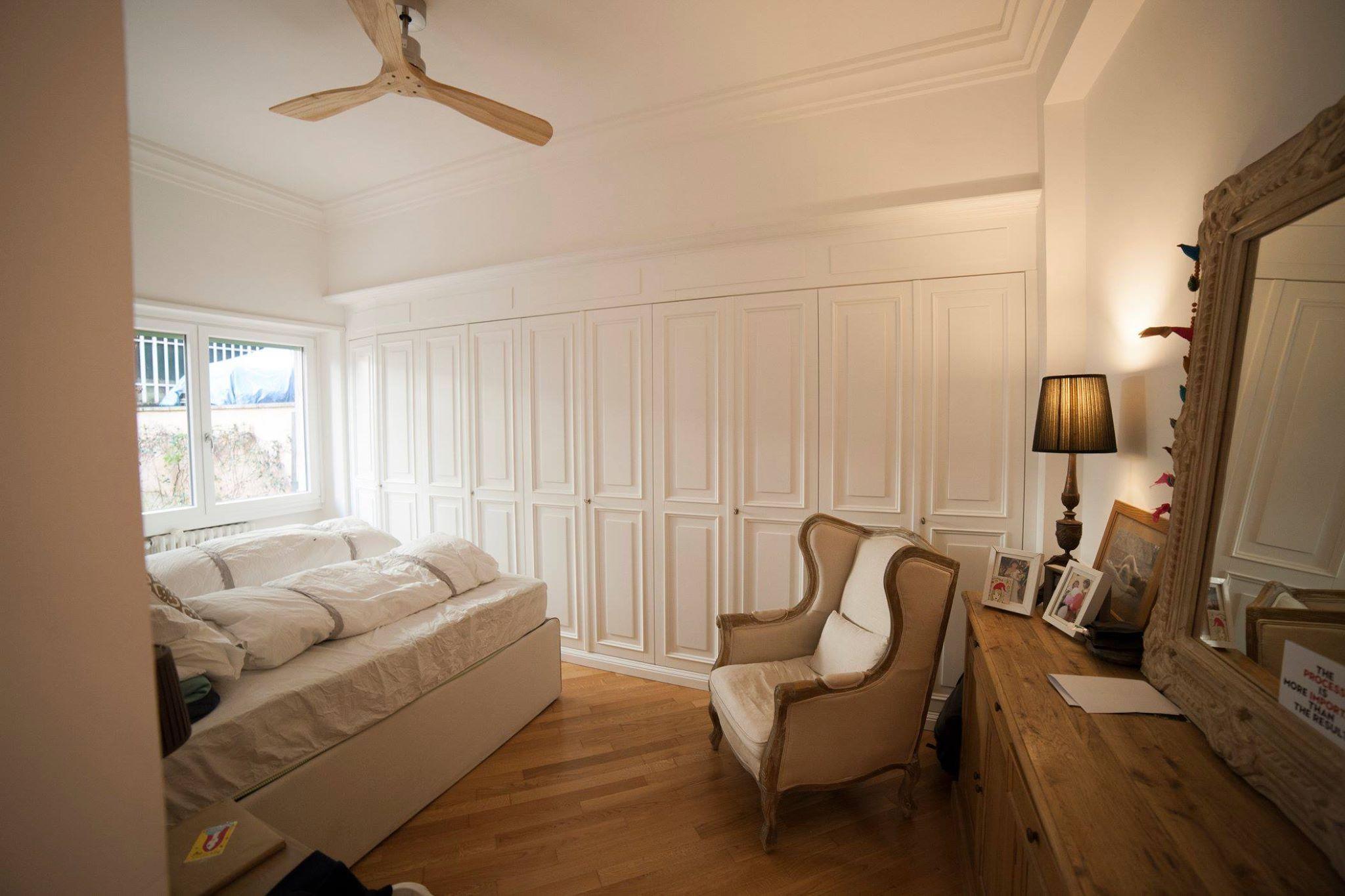 Armadi Per Camera Da Letto Su Misura : Armadio per camera da letto realizzato in legno di toulipier su