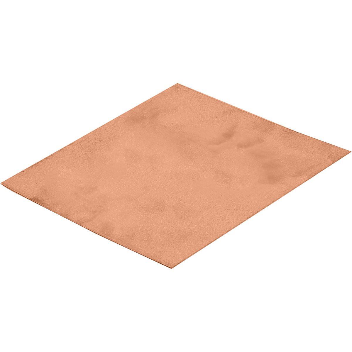 Copper Sheet 24 Gauge 6x6 Copper Sheets Sheet Metal Copper