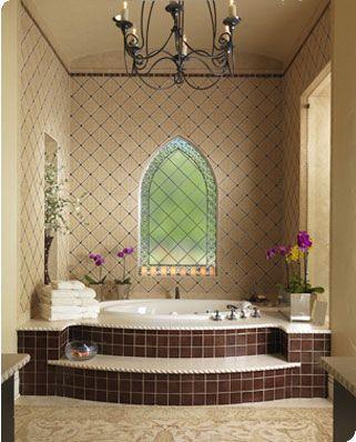 Bathrooms - Facings of America - St Sonoma Reserve, Tantrum Glass ...