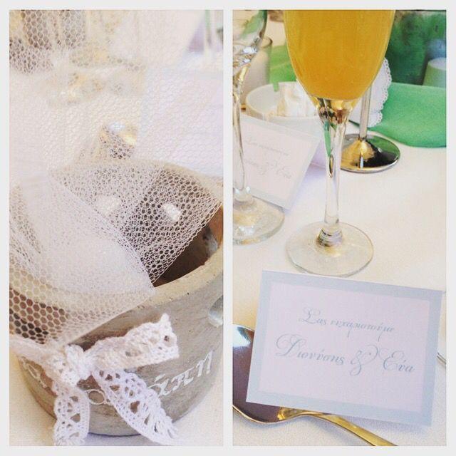Wedding favor & thank you card