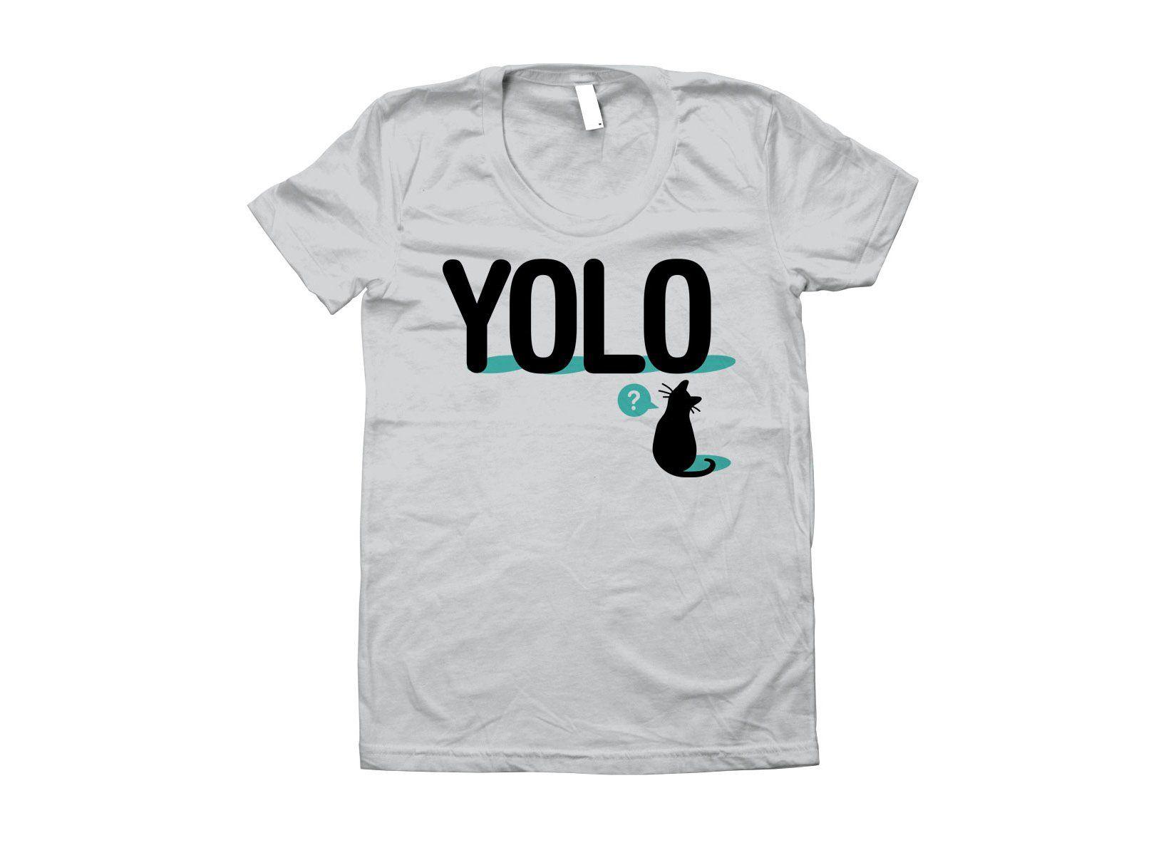 YOLO Cat TShirt Shirts, T shirt, Cats