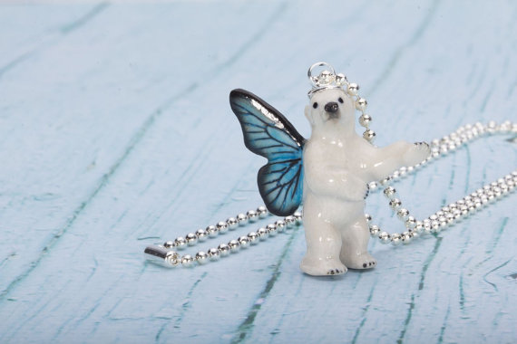 Polar Bear Fantasy Necklace   Pendant Necklace  China Animal