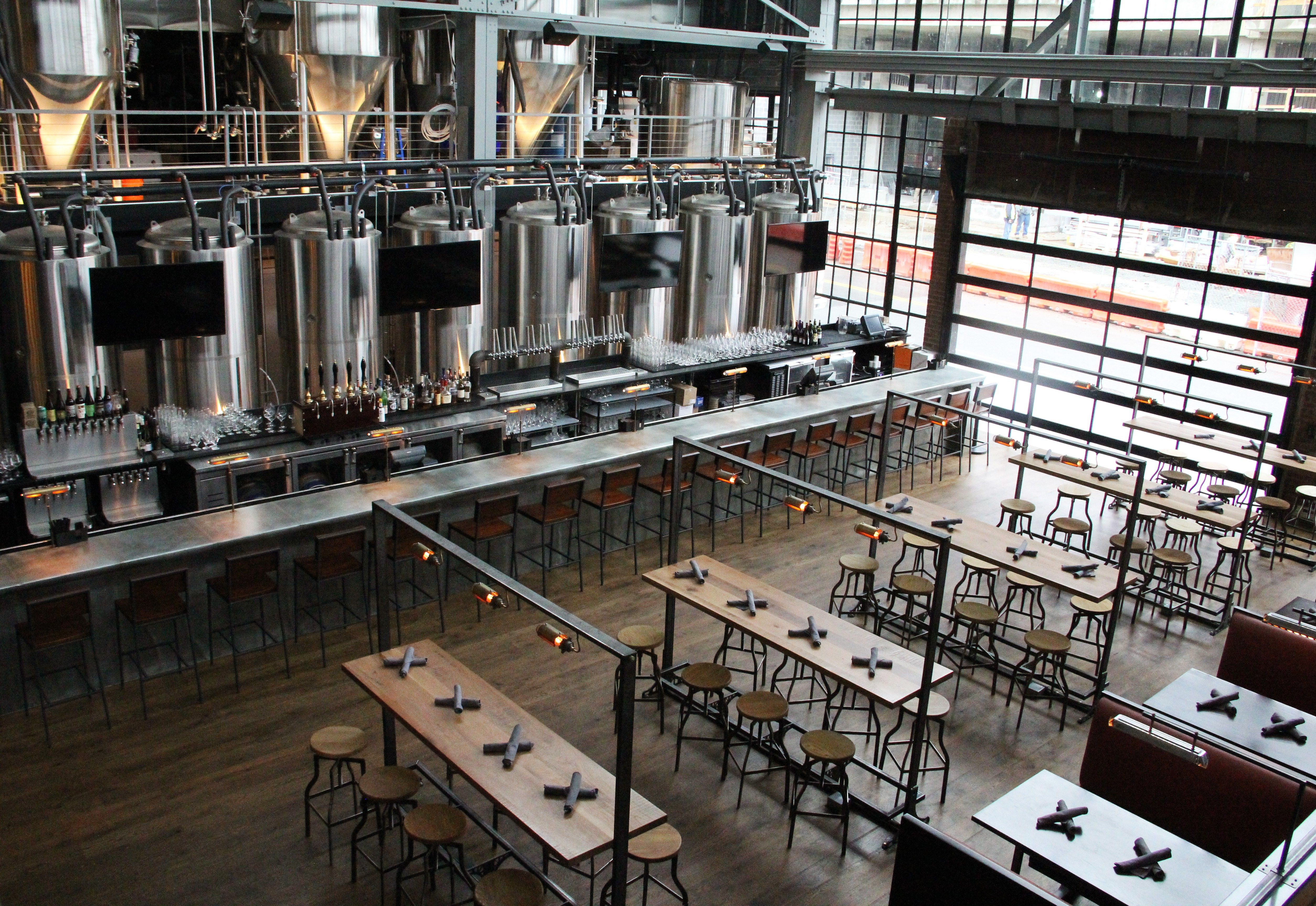 """As the craft-beer industry continues to explode, brewers are realizing the benefits of stepping up their design game to attract new crowds of """"beer tourists"""" to their shiny facilities. …"""