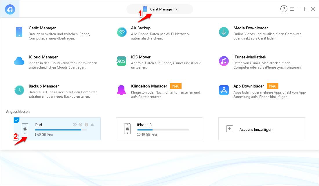 Apps Von Ipad Auf Iphone Direkt Ubertragen Imobie Einleitung Iphone Ipad Apps