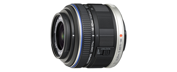 M.Zuiko 14-42mm f3.5-5.6 II (Black) (Reconditioned) - Reconditioned Lenses - Outlet | Olympus