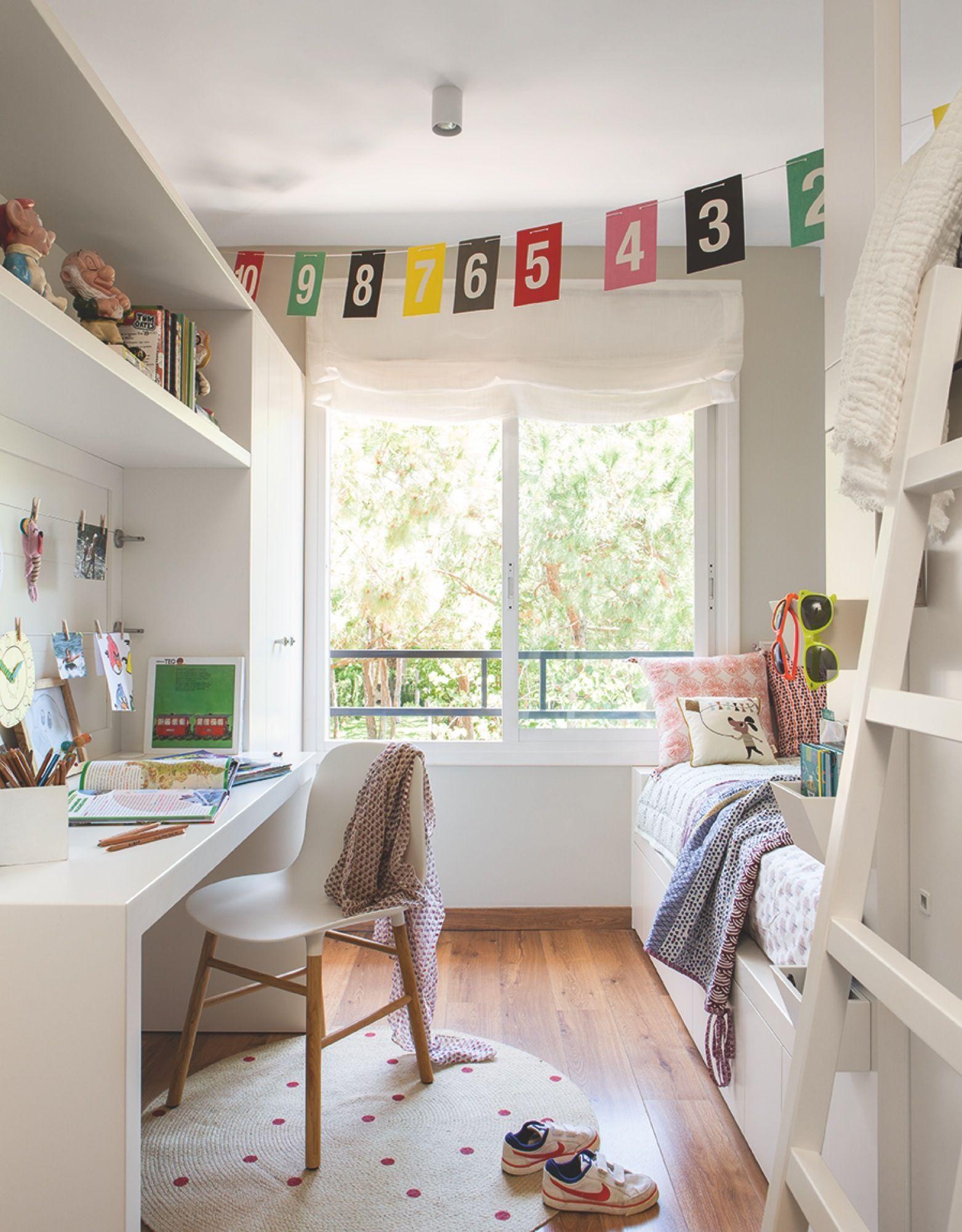 Habitaci n infantil la estructura que integra la mesa de - Diseno habitacion infantil ...