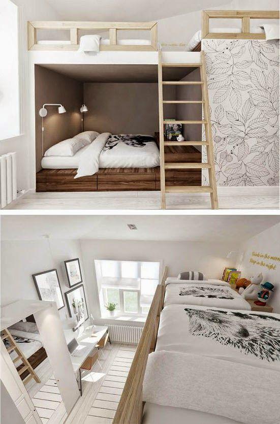 Mommo Design Bunk Beds Home Bedroom Bunk Beds Bunk Beds Built In