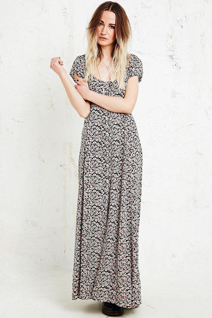 dd50e31e80ac Kimchi Blue Georgina Daisy Print Maxi Dress | Funny | Urban dresses ...