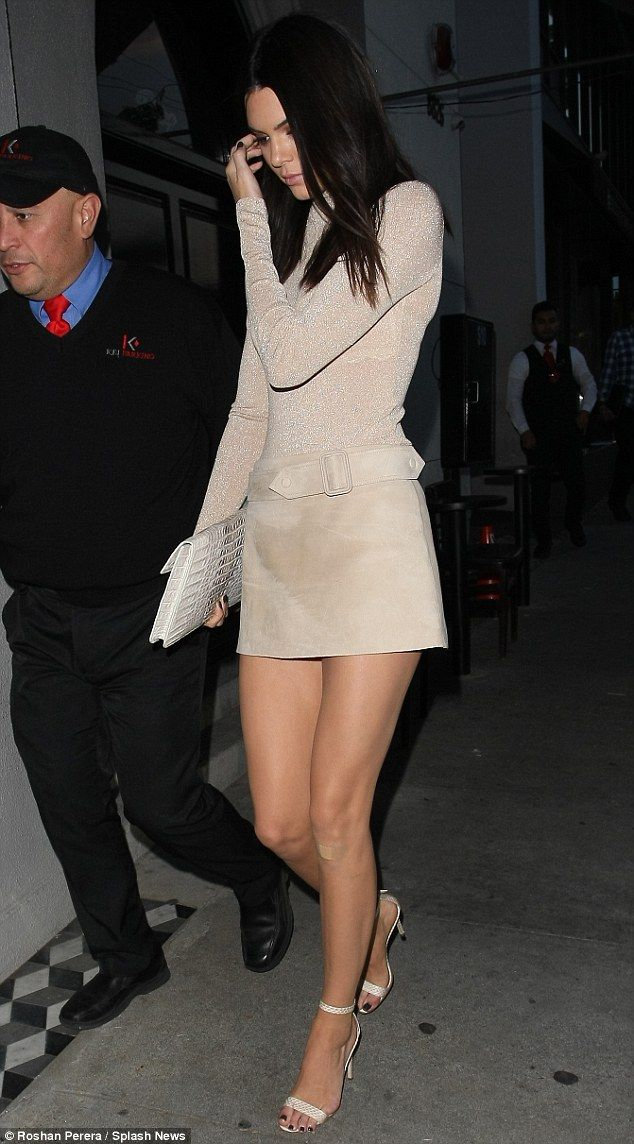 Kendall Jenner struts