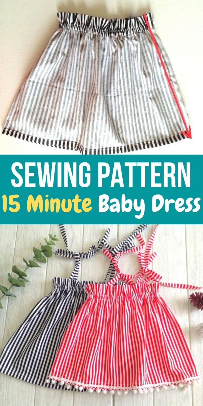 , 15- Minute Baby Dress from a Rectangle – Sew Crafty Me, My Babies Blog 2020, My Babies Blog 2020