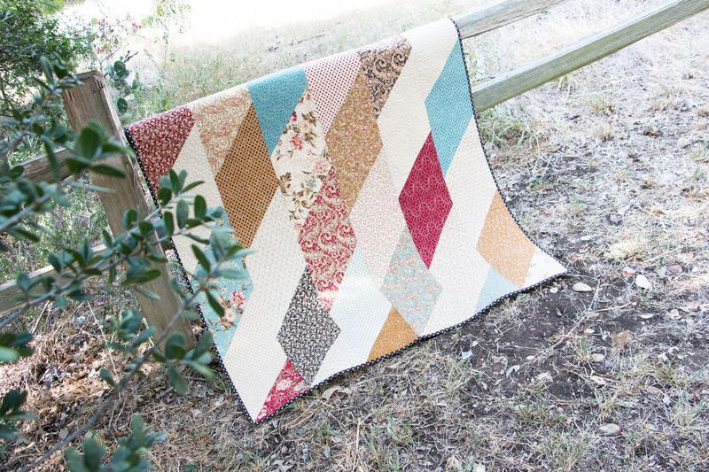 Even accomplished quilters like a quick and easy project. Kimberly Jolly demonstrates how to make her fastest Shortcut Quilt, the Fat Eighth Frenzy!