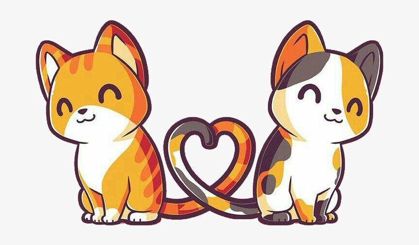 Kawaii Cute Cat Drawing Easy Hd Png Download Cartoon Cat Drawing Simple Cat Drawing Easy Drawings