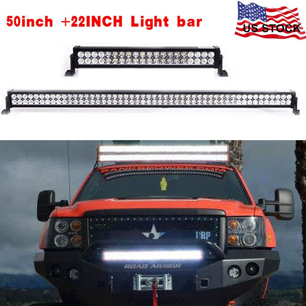50inch curved 120w 22inch led light bar offroad jeep 4x4 atv honda 50inch curved 120w 22inch led light bar offroad jeep 4x4 atv honda front rack aloadofball Images