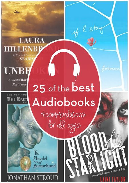 Reading with Your Ears: 25 of My Favorite Audiobooks | Reading list