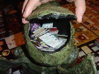 Arkham Horror: Monster Cards go in here