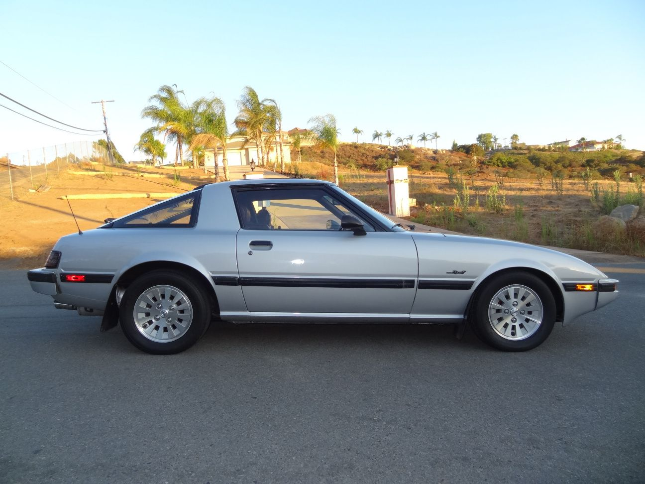 1984 1985 mazda rx7 gsl se in the final 2 years of the