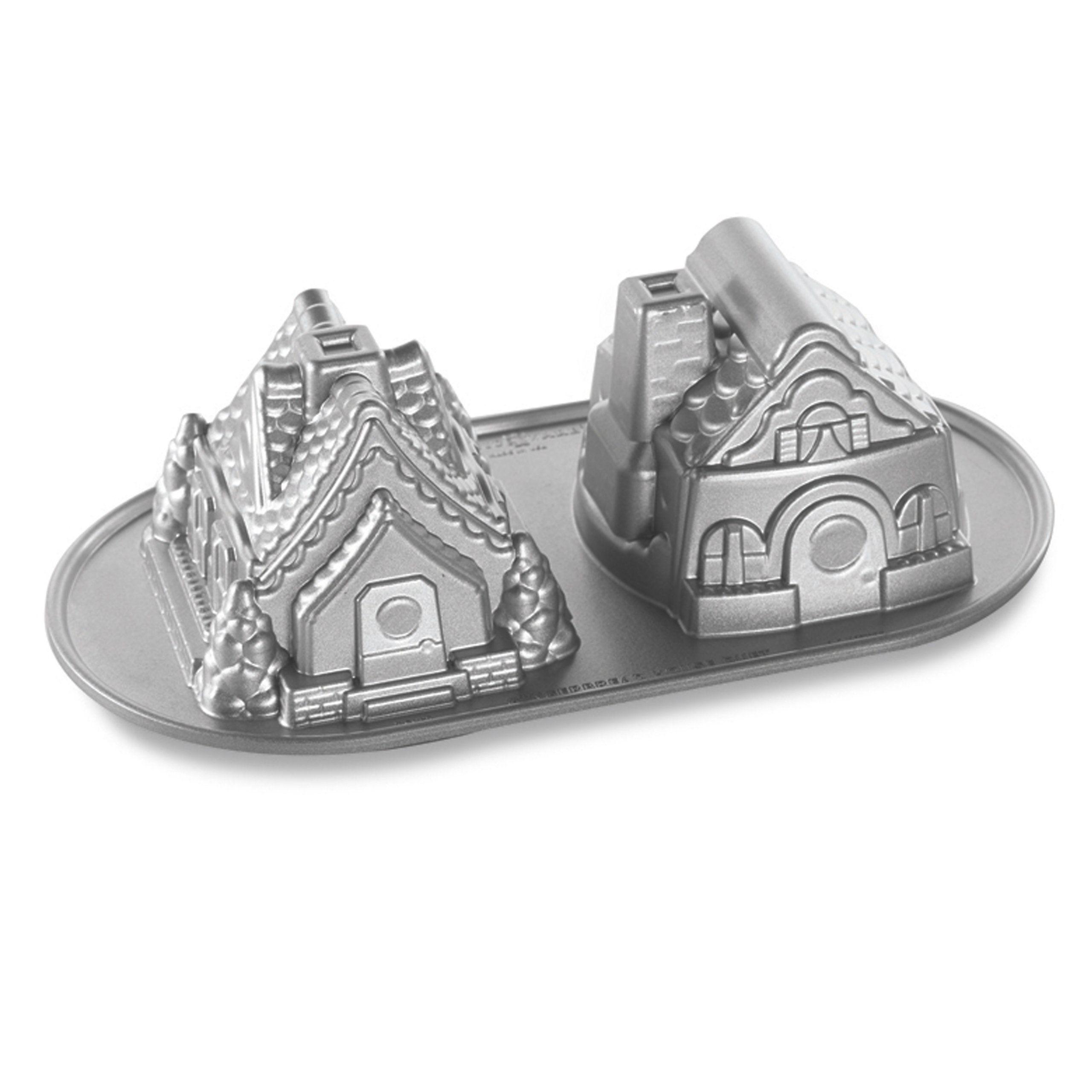 Nordic Ware Nordic Ware Gingerbread House Duet Pan Cake