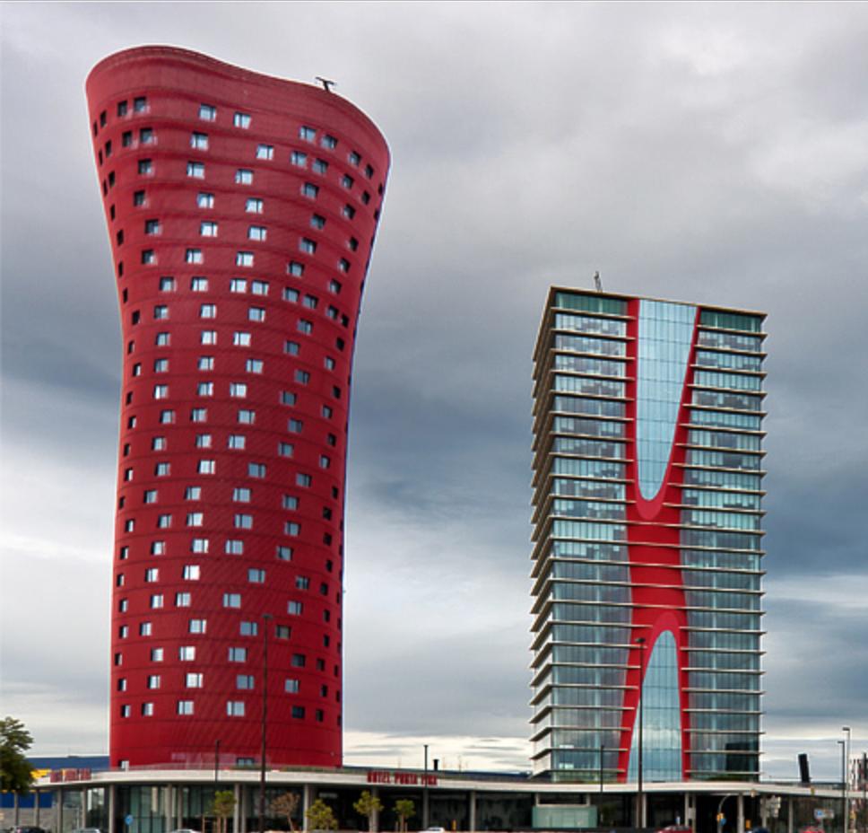 Hotel santos porta fira by toyo ito 2009 architecture - Arquitectura barcelona ...