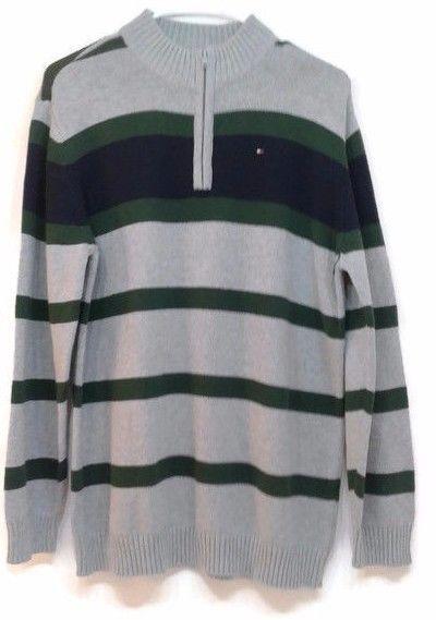 Check #TommyHilfigerSweater #HalfZipSweater #CottonPullover #TommyHilfigerPullover #MenSweater #SweaterMen #TommyHilfiger
