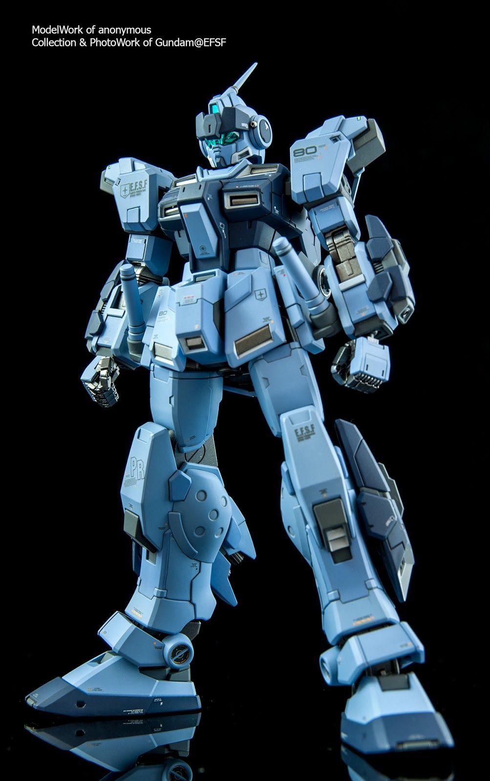 HGUC限定【PALE RIDER 蒼白騎士】RX-80PR (陸戰重裝備仕樣) | Gundam, Pale rider
