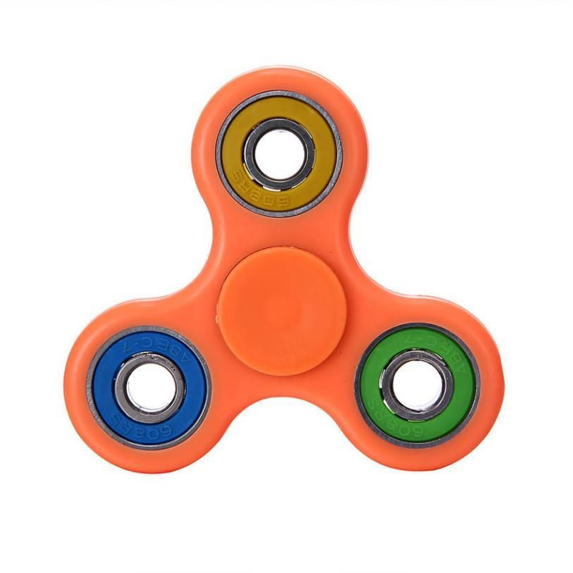 LED Glowing Hand Spinner focus Toys EDC Fidget Spinner Toy Austism ADHD Education&Learning Toys Choice A5014