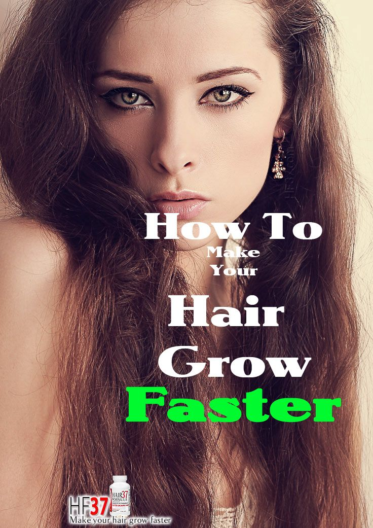 How do you grow your hair out faster it is easy with hf37