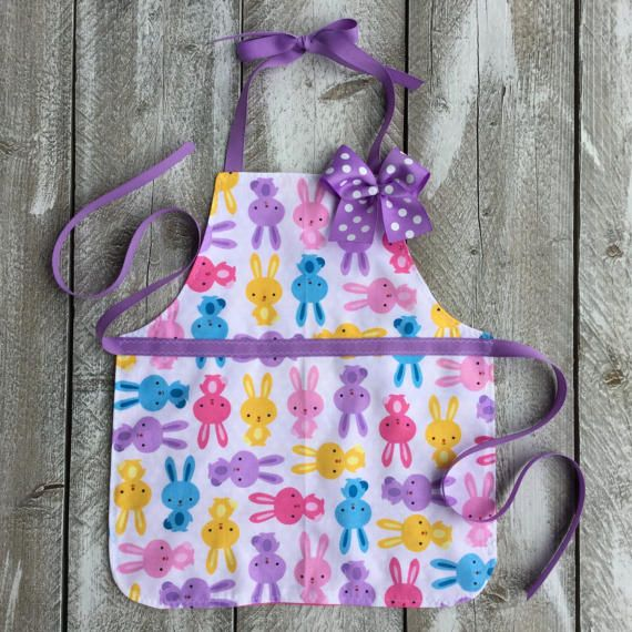 Kids apron easter basket gift toddler girl by littlesarasews kids apron easter basket gift toddler girl by littlesarasews negle Images