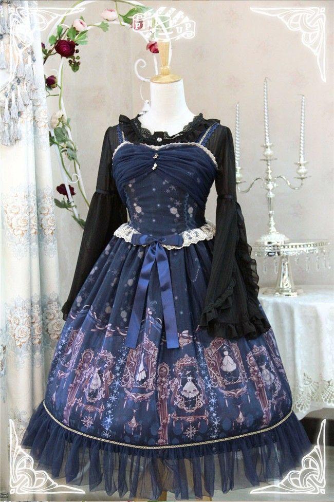 Mystic Closet~ Elegant Lolita JSK Dress -Two Kinds of Styles(10% OFF) - My Lolita Dress