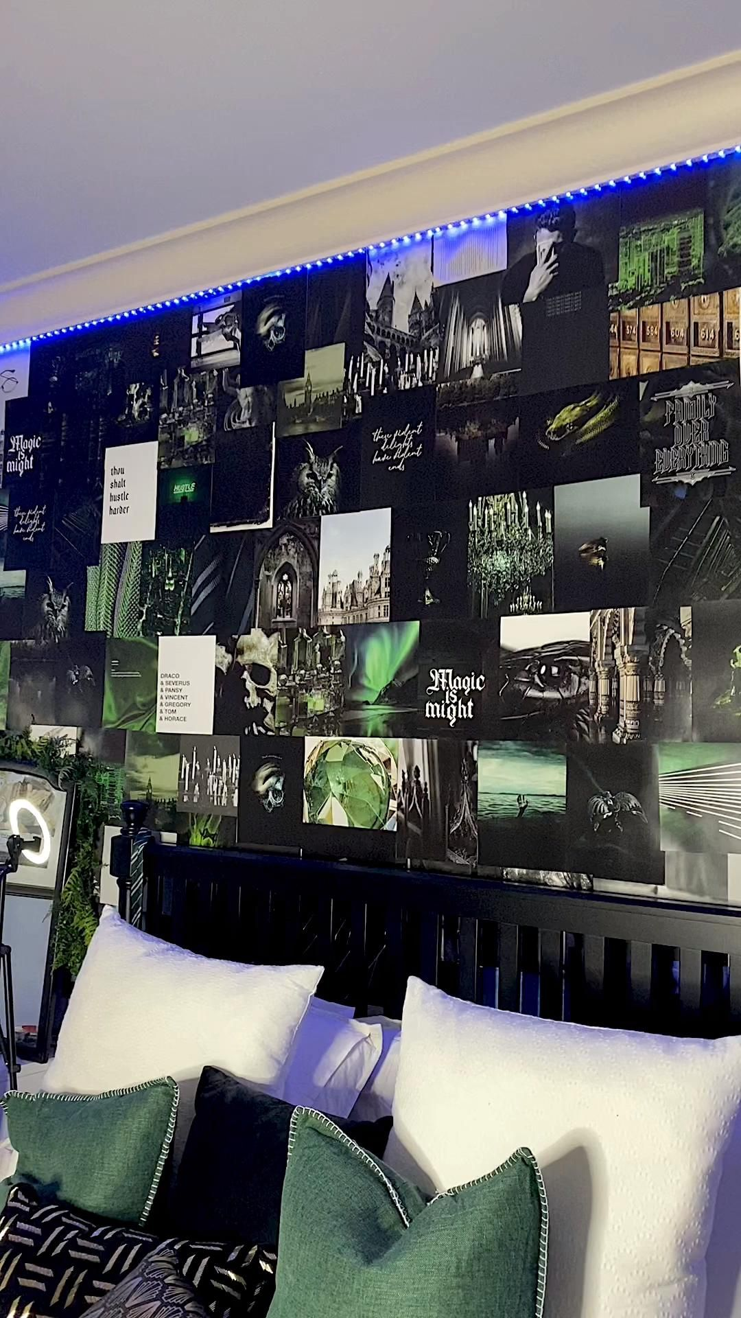 Photo of DARK ARTS Aesthetic Collage Wall