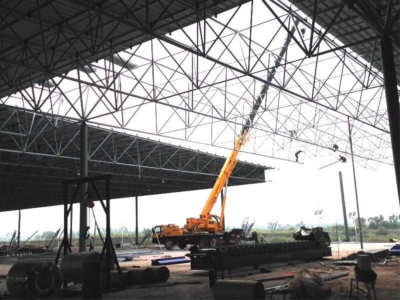 Pin by Andy Structure on prefabricated large span steel frame ...