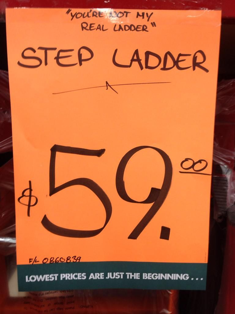 A hardware store with a sense of humor.