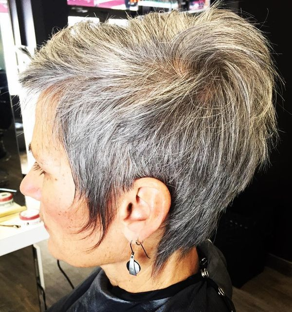 salt and pepper hair style 60 gorgeous gray hair styles hairstyles 7431