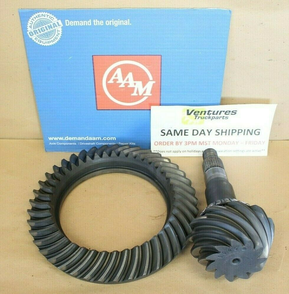 """14-Bolt NEW 4.56 Ratio GM AAM 11.5/"""" Chevy Ring /& Pinion Gears Rearend Axle"""