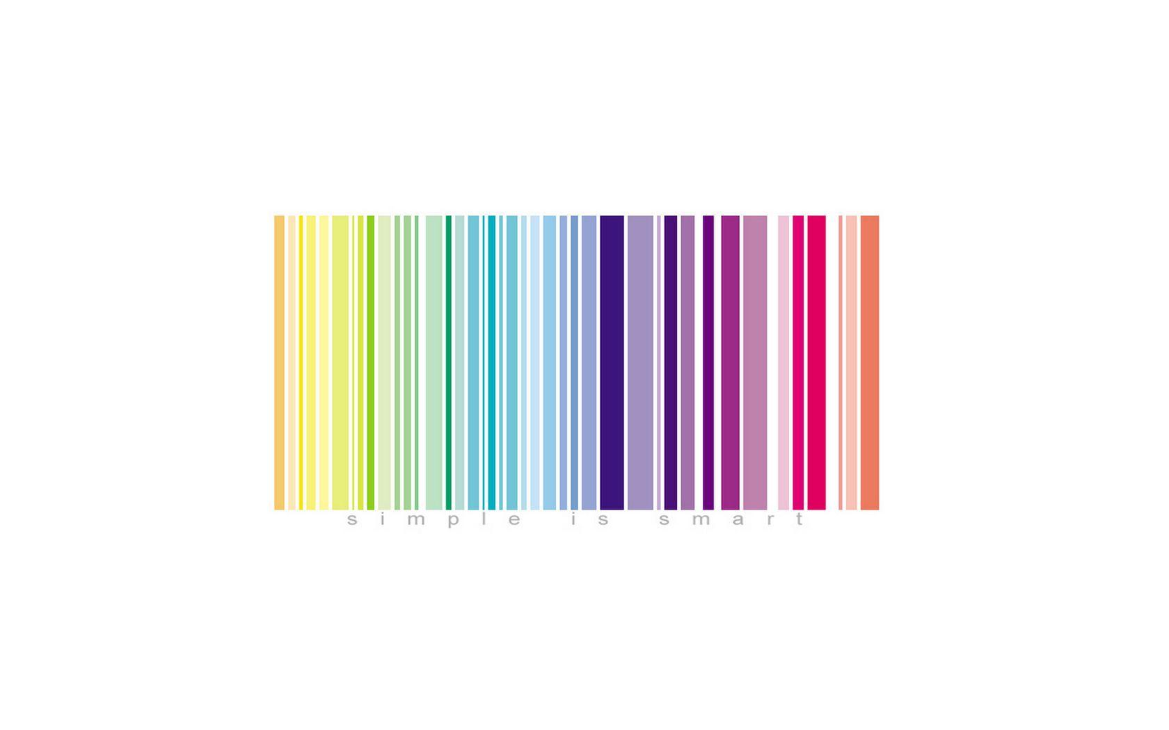 Colorful barcode barcode design barcode generator