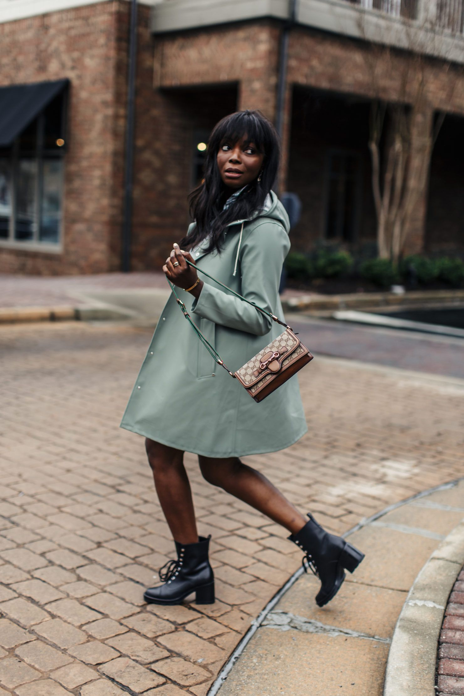 e476bedeae15 Rainy Day Outfits & Street Style: Stutterheim Mosebacke Rain Jacket on Fashion  Blogger | MILLENNIELLE Lifestyle & Fashion Blog