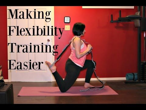 how to make flexibility training easier with images