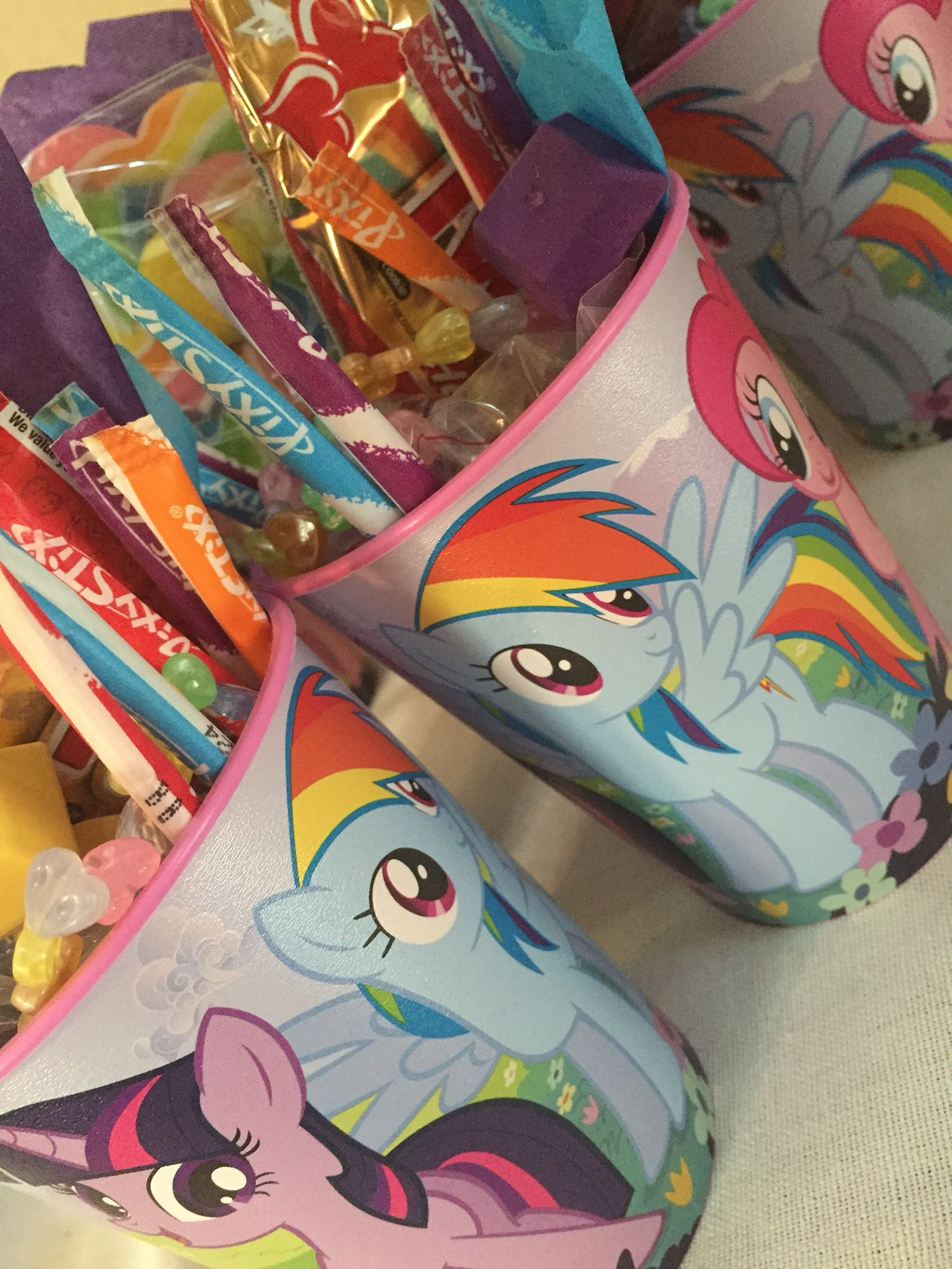 My Little Pony Party Favors Party Ideas Pinterest Feestje 4de