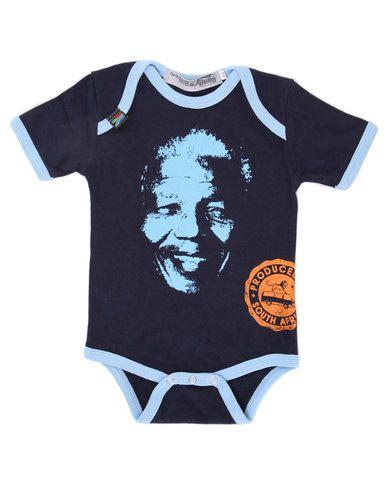 Krag Drag 'Madiba' boys onesie (R200)
